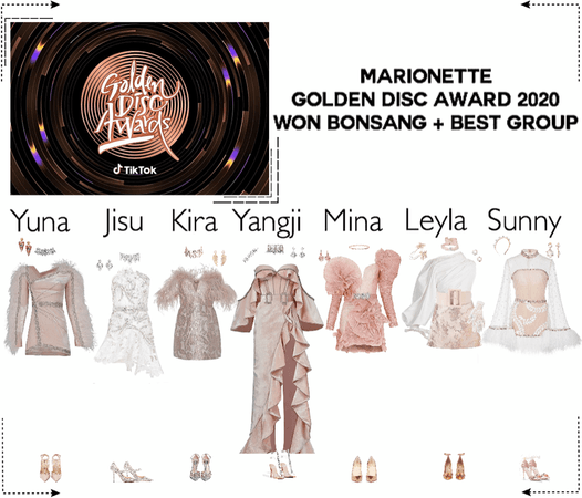 MARIONETTE (마리오네트) Golden Disc Awards 2020 | Red Carpet