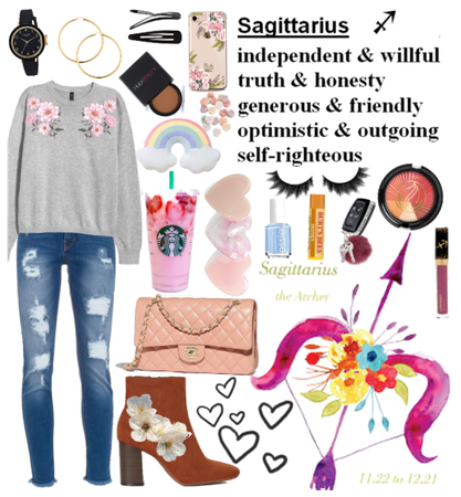 Sagittarius Soft Girl