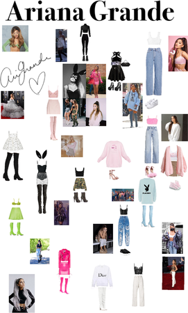 Ariana Grande outfit lookalikes