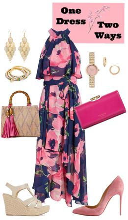 Flower Dress multiple Ways
