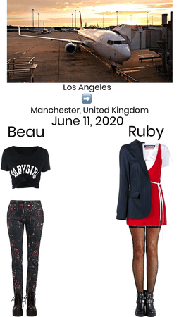 Beau & Their Aunt go to Manchester