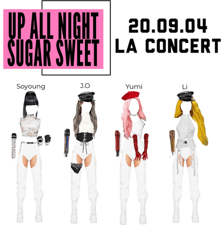 Sugar Sweet 'All Night Long' North American Tour