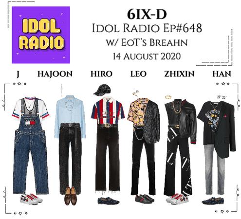 6IX-D [씩스띠] Idol Radio 200814