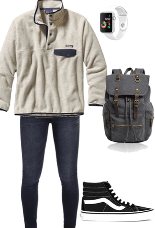 day at school series outfit #14