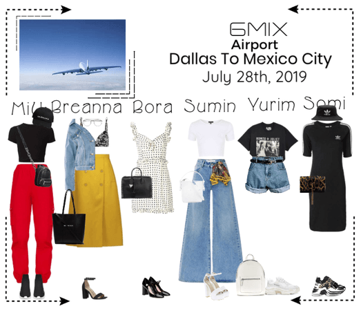 《6mix》Airport | Dallas To Mexico City