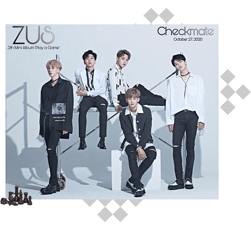 Zus// 'Checkmate' Group Teaser Photo 'Game' Ver.