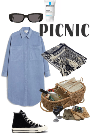 picnic in a sunny day 🧺 ☀️🍷