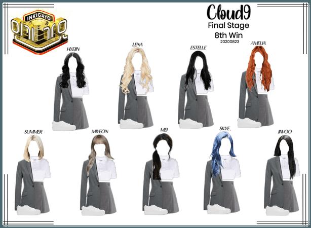 Cloud9 (구름아홉) | Last Stage - Inkigayo | 20200823