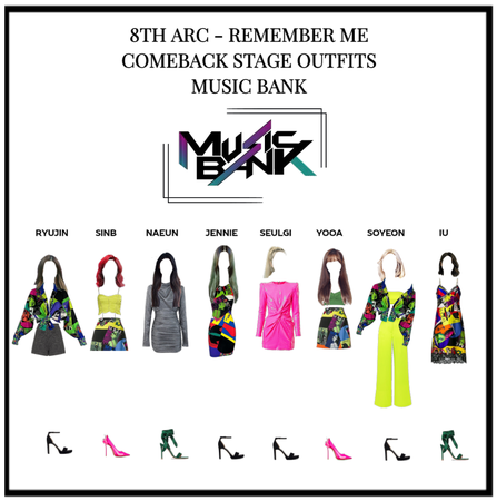"""8TH ARC """"REMEMBER ME"""" COMEBACK STAGE"""