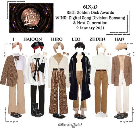 6IX-D [씩스띠] 35th Golden Disk Awards 210109