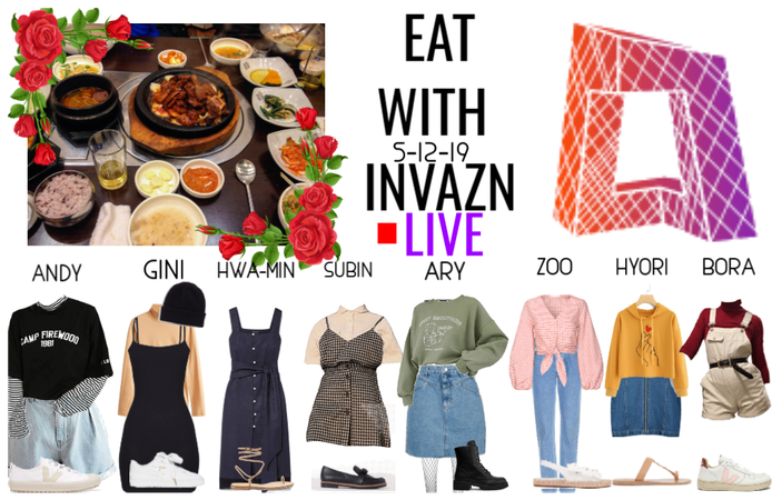 Eat With INVAZN Live May 12th 2019