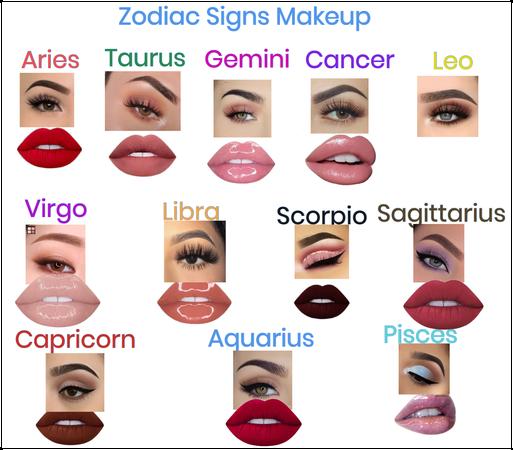 Zodiac Signs Makeup