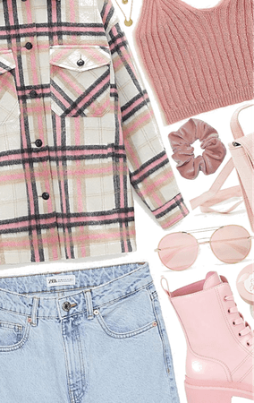 outfit inspiration | pink outdoors
