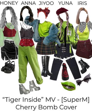 """Tiger Inside"" MV - [SuperM] Cherry Bomb Cover"
