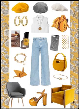 Mustard Grey