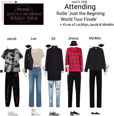 Zus//Attending RoSe Just the Beginning: World Tour Finale