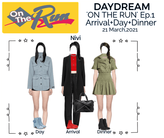 DAYDREAM- 'ON THE RUN' Ep.#1- Nivi