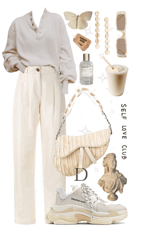 clean nude outfit