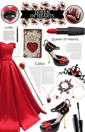Queen of Hearts | WONDERLAND CHALLENGE |