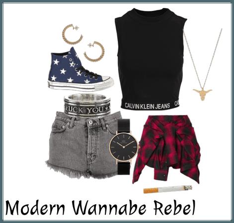 Modern Wannabe Rebel