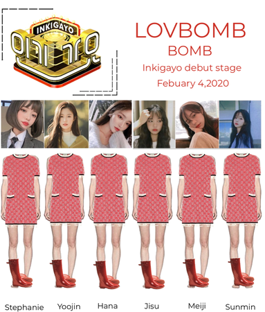 LOVEBOMB - bomb debut stage