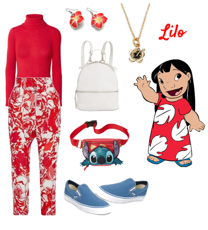 Lilo outfit - Disneybounding