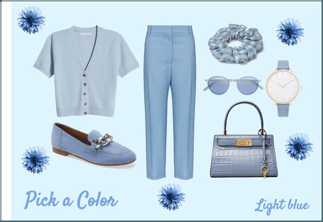 pick a color: light blue