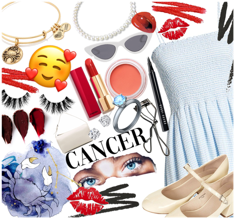 Cancer Outfit for Cancer Season 💅❤️💙❤️♋️