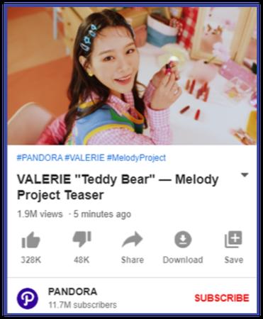 """VALERIE """"Teddy Bear"""" Project Teaser"""