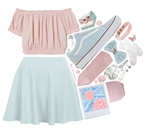 Pink + Powder Blue