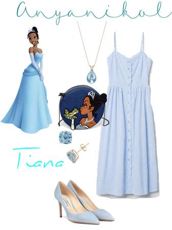 Tiana Disneybound