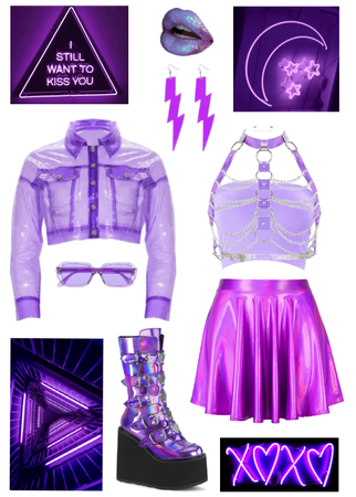 Neon Purple Dream