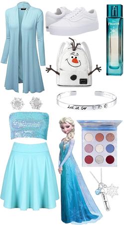 Elsa Disneybound