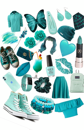 teal things!