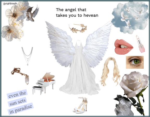 angel to heaven