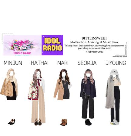 BITTER-SWEET [비터스윗] Music Bank + Idol Radio 200207