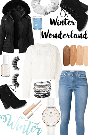 warm winter outfit!!