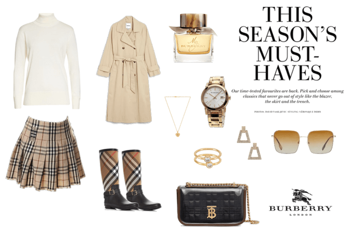 Burberry Inspired Outfit