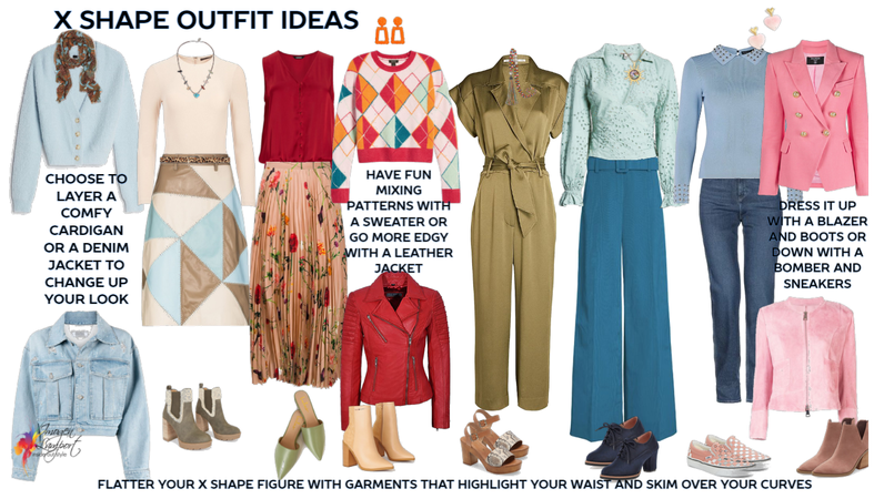 X shape outfit ideas