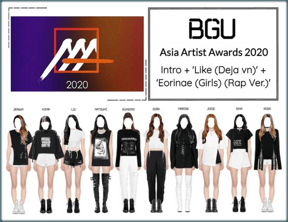 BGU Asia Artist Awards 2020