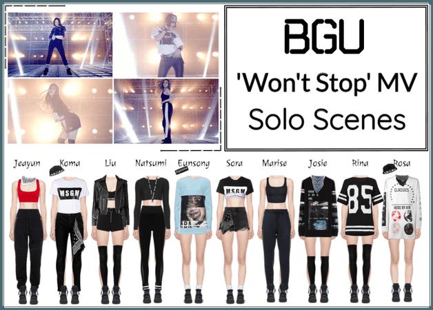 BGU 'Won't Stop' MV