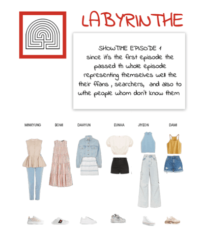 Labyrinthe showtime episode 1