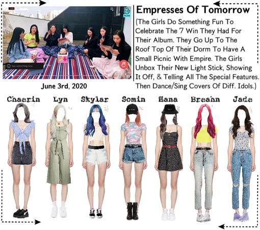 EOT(내일의 황후) | Vlive: 'Empresses Picnic!'