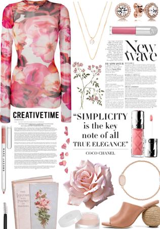 flowery pinks