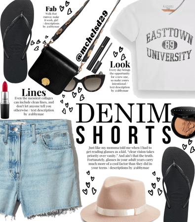 Denim Shorts 🩳 💙