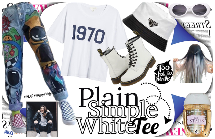 @looksbylyla plain and simple white tee