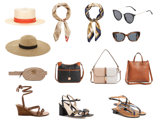 Summer Accessories; Rome & Florence