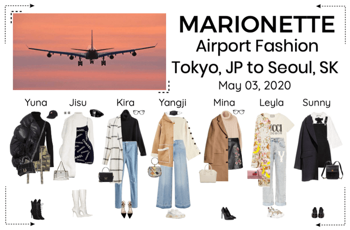 MARIONETTE (마리오네트) Airport Fashion