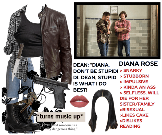 Supernatural OC   Diana Rose