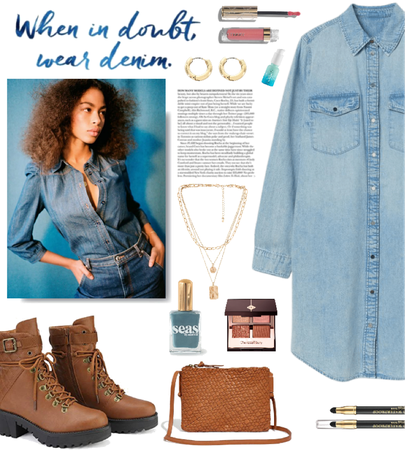 denim all the time